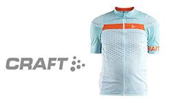 Craft fietskleding logo