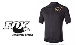 Fox fietskleding logo