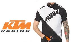 KTM fietskleding logo