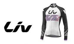 Liv fietskleding logo
