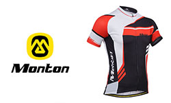 Monton fietskleding logo