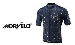 Morvelo fietskleding logo