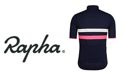 Rapha fietskleding logo