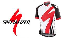 Specialized fietskleding logo