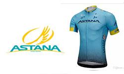 Astana fietskleding 2018