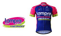 Lampre Merida fietskleding 2018