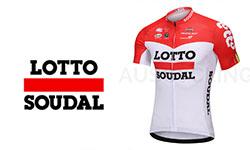 Lotto Soudal fietskleding 2018