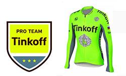 Tinkoff fietskleding 2018