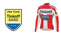 Tinkoff Saxo Bank fietskleding 2018