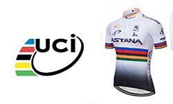 Astana fietskleding Van het UCI-team