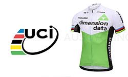 Dimension Data fietskleding Van het UCI-team