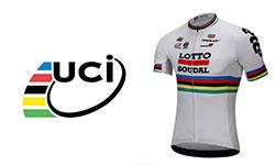 Lotto Soudal fietskleding Van het UCI-team