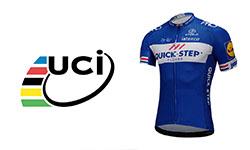 Quick Step Floors fietskleding Van het UCI-team