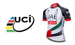 UAE fietskleding Van het UCI-team
