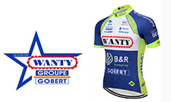Wanty-Groupe Gobert fietskleding 2018